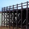 プラ擬木 デッキ/八つ橋