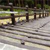 プラ擬木 階段/階段デッキ