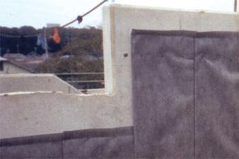 構造物裏面排水工 施工例0