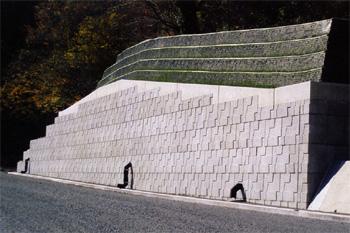 ジオロックウォール工法 スロープ型 施工例0